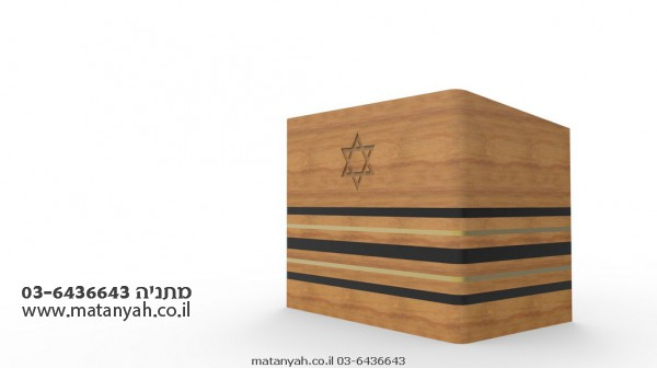 Modern Design Light Brown Bimah - Exclusively for Matanyah