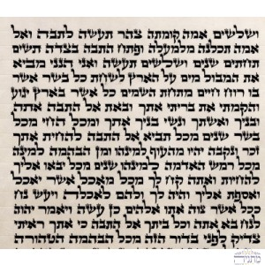 Sefer Torah Parchment Green 48