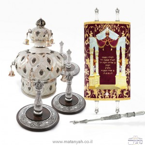 Complete set of Torah accessories at discounted