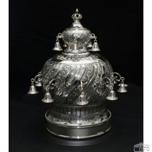 Pure Silver Sefer Crown