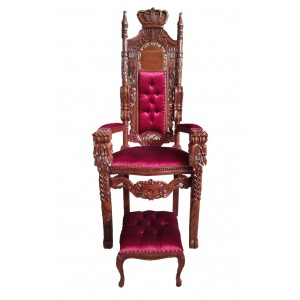 Elijah Chair Malchut - Red