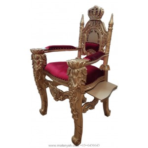 Elijah Chair Luchot and crown