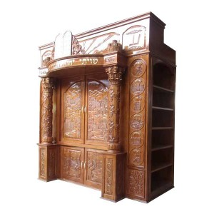 Ark Shvatim with 2 bookcases on the sides