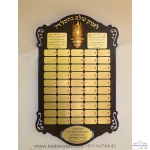 Commemorative plaque 57 amazing in operation! 46""
