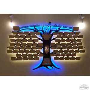 Tree of Life Donors Board w/ 90 Plaques