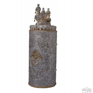 Crown & Star of David - Torah Case