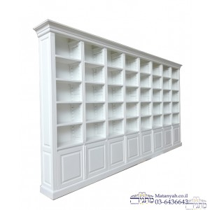 Single Bookcase luxury hand carves