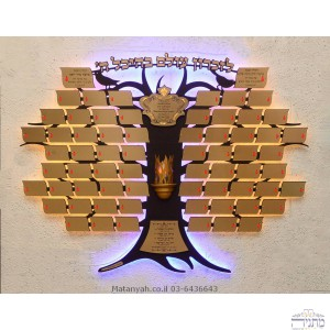 "Artistic ""Tree of Life"" Memorial Board - Birds - 68 Plaques"