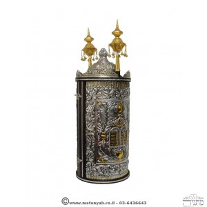 Torah Case - tablets with crystal stones