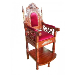 Elijah's Chair Malchut - Gold Plated