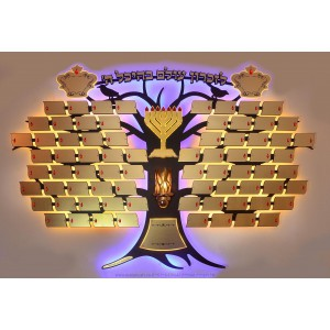 Eitz Chaim Donors Board - Modern - 78 Plaques