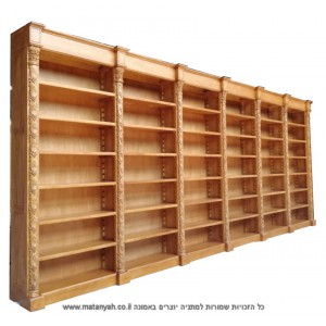 Bookcase glass doors with a cabinet