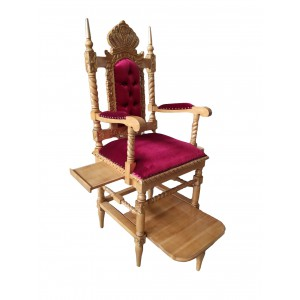 Elijah's Chair - Crown Classic Majestic Red